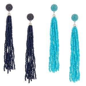 🆕Beaded Tassel Earrings